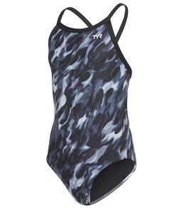 9f11a3b4f97f2 TYR Girls' Draco Diamondfit One Piece Swimsuit ...