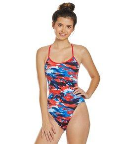 티어 여성 수영복 강습용 원피스 스윔수트 TYR Womens Synthesis Trinityfit One Piece Swimsuit