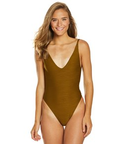 25a2129564ff L-Space Shorebreak Texture Back To The Future One Piece Swimsuit