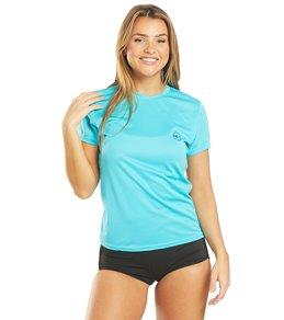 ONeill Womens Basic Upf 30+ Short Sleeve Sun Shirt