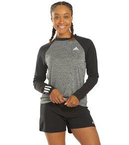 아디다스 Adidas Long Sleeve Swim Shirt