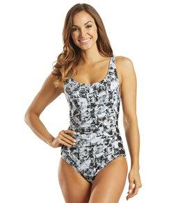 TYR Womens Makai Lattice Controlfit Chlorine Resistant One Piece Swimsuit