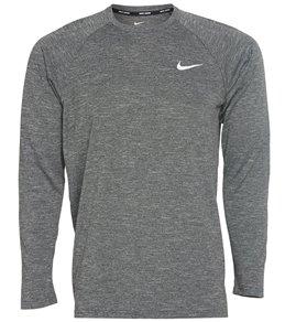 나이키 Nike Mens Heather Long Sleeve Hydroguard