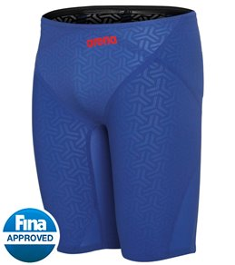 아레나 맨 강습용 5부 수영복 Arena Mens Powerskin Carbon Glide Jammer Tech Swimsuit,Ocean Blue