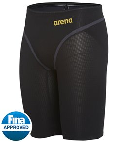 아레나 맨 강습용 5부 수영복 Arena Mens Powerskin Carbon Core FX Jammer Tech Suit Swimsuit