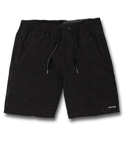 볼컴 Volcom Mens Packasack Lite 19 Boardshort,Black