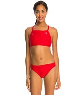 TYR TYRECO Solid Diamondfit Workout Bikini Swimsuit Set