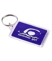 Bay Six Swimmer Girl Key Ring
