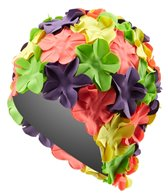 Sporti Flower Swim Cap