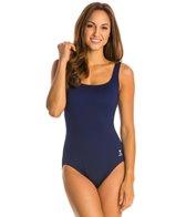 TYR Solid Aqua Controlfit One Piece Swimsuit