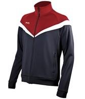 TYR Freestyle Stripe Male Warm Up Jacket