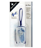 Aqua Sphere Silicone Ear Plugs with Lanyard & Case