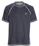 Speedo Men's Easy Short Sleeve Swim Shirt