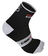 Castelli Men's Rosso Corsa 9 Cycling Socks
