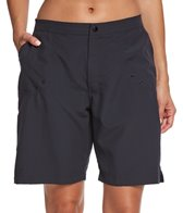 Maxine Women's Solid Woven Long Boardshort