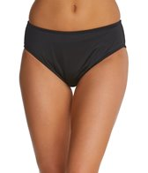24th & Ocean Swimwear Solid High Waist Bikini Bottom