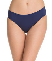 Jag Swimwear Solid Full French Bikini Bottom
