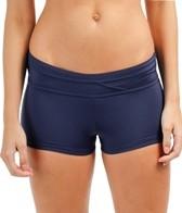 Jag Swimwear Solid Boyleg Bikini Bottom