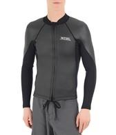 Xcel Men's 2/1MM Axis Smoothskin Front Zip Long Sleeve Wetsuit Jacket