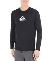 Quiksilver Men's Solid Streak Long Sleeve Relaxed Fit Surf Shirt