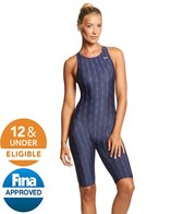 TYR Fusion Aerofit Short John 2 Kneeskin Tech Suit Swimsuit