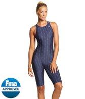 TYR Fusion Aerofit Short John 2 Kneeskin Tech Suit Swimsuit