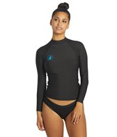 391ff11c74 Body Glove Women s Basic Long Sleeve Fitted Rash Guard at SwimOutlet.com