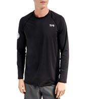 TYR Men's Long Sleeve Swim Shirt