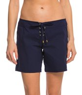 Helen Jon Women's Resort Essentials 7'' Lace-Up Boardshort