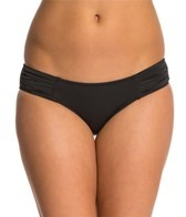 seafolly-solid-pleated-hipster-bikini-bottom