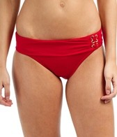 jag-swimwear-solid-roll-top-retro-hipster-bikini-bottom