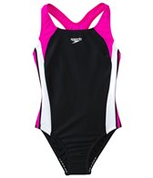 Speedo Girls' Infinity Splice One Piece (4yrs-6yrs)