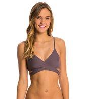 L-Space Swimwear Sensual Solids Chloe Wrap Bikini Top