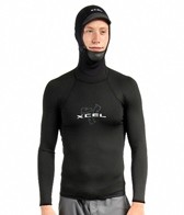 Xcel Men's Polypro Hooded Long Sleeve Insulating Rashguard