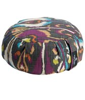 Hugger Mugger Zafu Printed Yoga Meditation Cushion