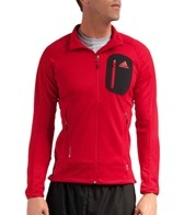 Adidas Men's Terrex Cocona Running Fleece Running Jacket