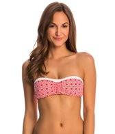 Beach House Swimwear Panama Geo Bandeau Bra Bikini Top