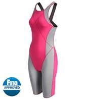 Dolfin Women's Platinum2 Color Kneeskin Tech Suit Swimsuit