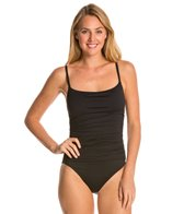 La Blanca Core Solid Lingerie One Piece Swimsuit
