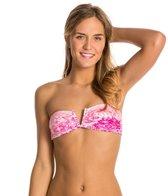 Rip Curl Swimwear Safari Sun Printed Bandeau Bikini Top
