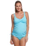Prego Swimwear Maternity Twist Tankini Set