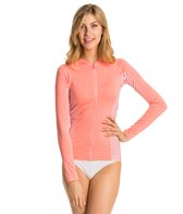 Rip Curl Women's Mavericks Long Sleeve Front Zip Rashguard