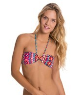 Roxy Swimwear Morrocan Dream Criss Cross Bandeau Bikini Top