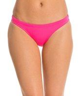 EQ Swimwear Solid Poly Streamline Bikini Bottom