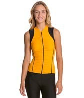 Alii Sport Beatriz Ruched Sleeveless Cycling Jersey