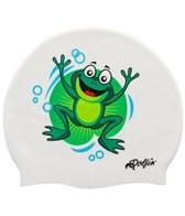 Dolfin Frog Silicone Swim Cap