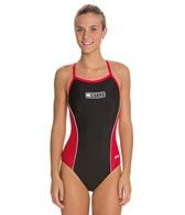 Dolfin Lifeguard Xtra Life Lycra Female Team Panel Suit