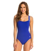 TYR Fitness Sonoma Square Neck Controlfit One Piece Swimsuit