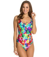 Seafolly Sonic Bloom Tank Maillot One Piece Swimsuit