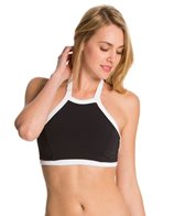 Seafolly Block Party High Neck Bikini Top